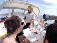 Pranzo a bordo
