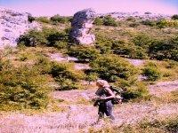 Trekking a Roccamotrice Abruzzo