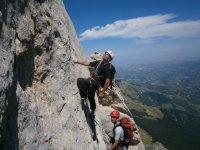 Corsi di climbing con Giampiero di Federico