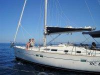 In barca al sud Italia