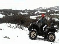 Scalando la neve