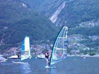 Windsurf su acqua dolce