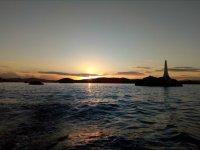 L'alba dal mare