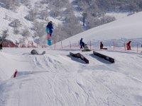 Snowboard adrenalinico