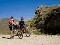 Mountainbike vicino L Aquila