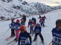 Scuola di sci per piccini
