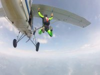 Salto dall aereo