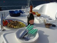 Tasting by boat