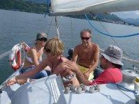 Prima lezione corso di vela