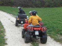 Escursione in quad colline umbre (Perugia)