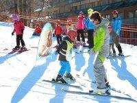 I primi passi sugli sci