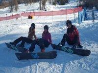 Snowboard tutti insieme