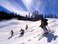 Immense piste da sci