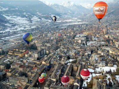 Alpina-Tour Volo Mongolfiera