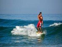 Perfetto sulle onde e senza onde
