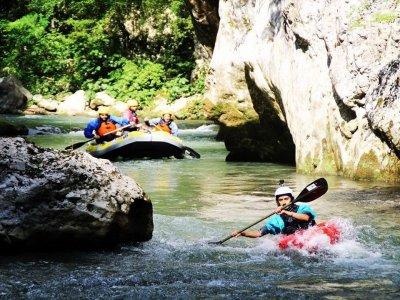 Pollino Rafting Canoa