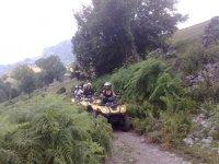 In Valtellina con il quad