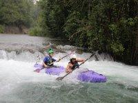 kayak in coppia