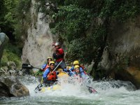 rafting in Lao