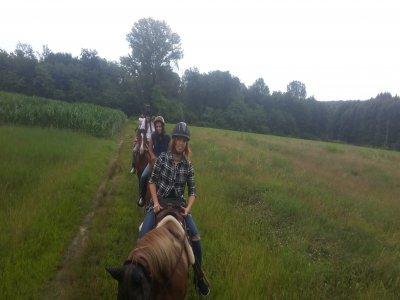 Passeggiata a cavallo nel Parco del Ticino (2h)