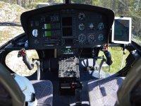 I comandi dell'elicottero