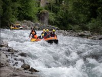 Rafting sulle rapide