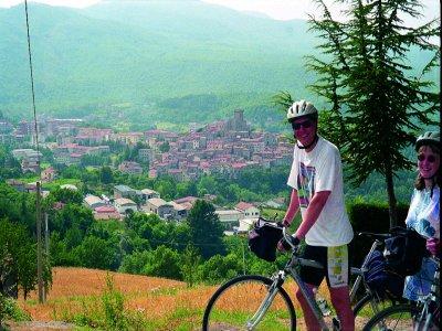 By bike on Monte Amiata
