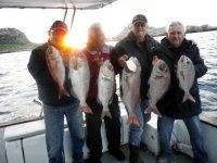La pesca della giornata