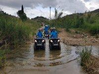escursione in quad dopo la pioggia