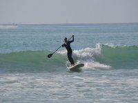 paddlesurf sulle onde
