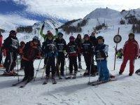 La scuola di sci