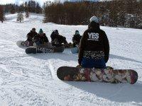 Gruppo di snowboard