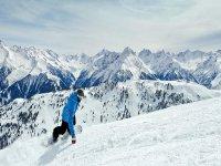 Snowboard sul sestriere