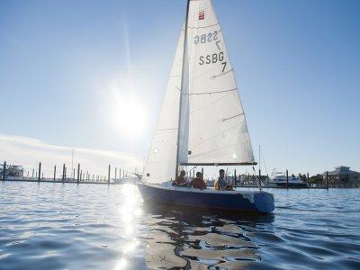 Weekend in barca a vela nel Salento