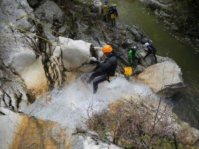 Canyoning sul Appenino Lucano Castelgrande