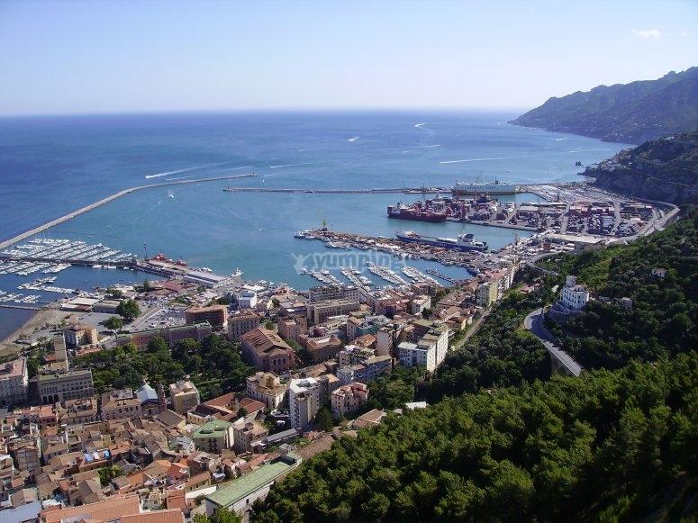 Salerno dall'alto