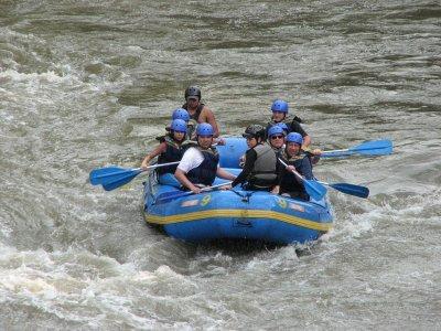 Rafting Fun Trip di un'ora nel Fiume Lao (adulti)