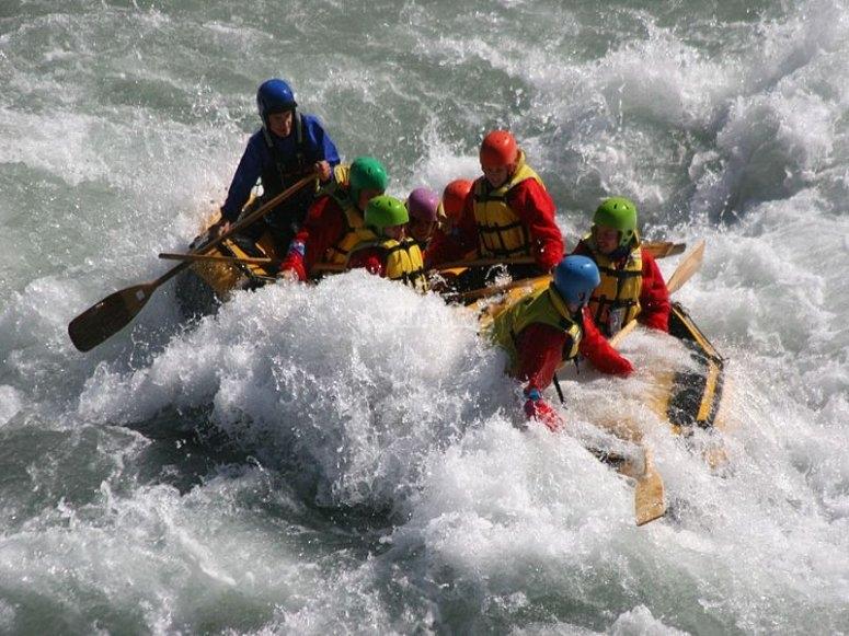 Uno degli sport fluviali più amati