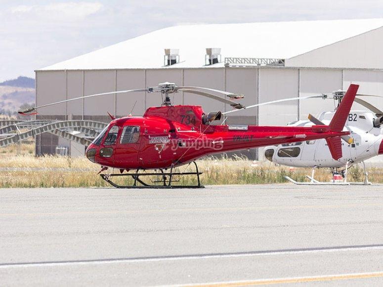 Un elicottero simile al nostro