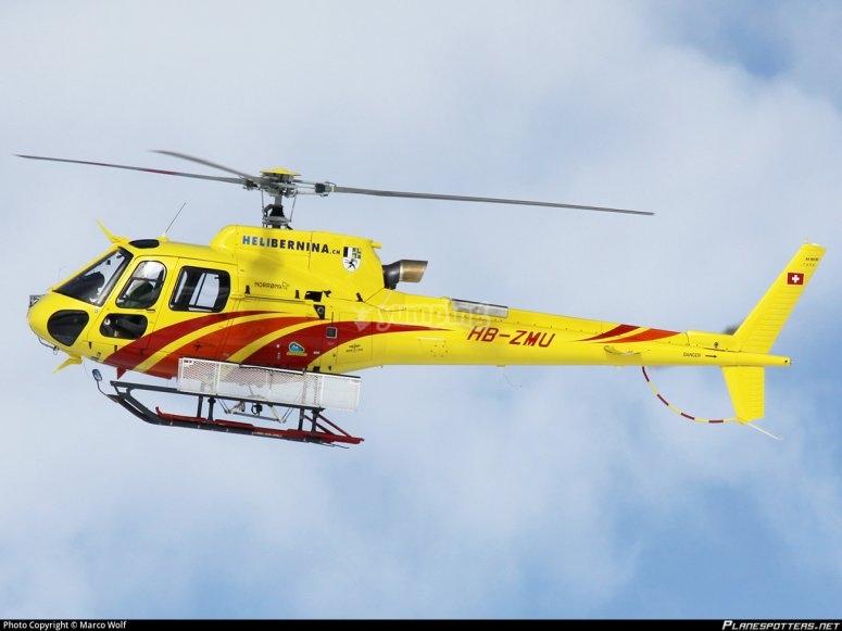 Un  modello di AS350-b3