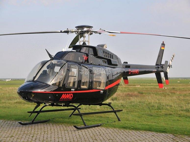 Elicottero bell 407