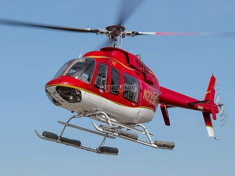 bell 407 rosso
