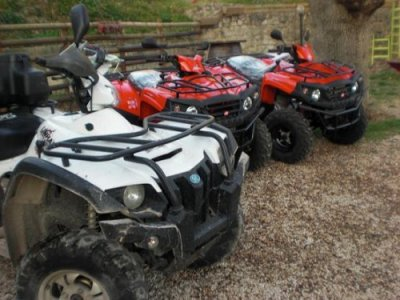 Week-end quad Tour degli ulivi+rafting