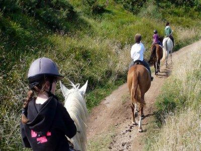 Tour a cavallo con pranzo da Ponte S.Lucia 3 ore