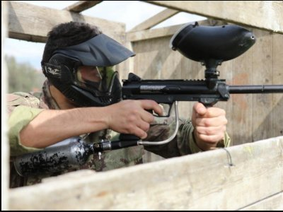 Paintball match in Misterbianco 2 hours