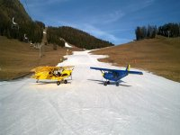 aereo e neve