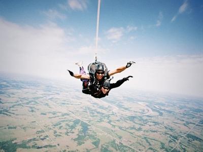 Volo in paracadute a Siracusa 2 persone
