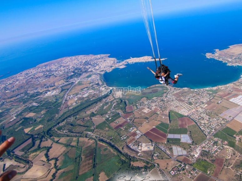 Sicily from above is beautiful