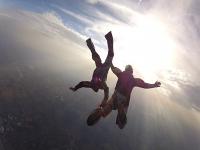 Lancio paracadute tandem a Siracusa + video e foto