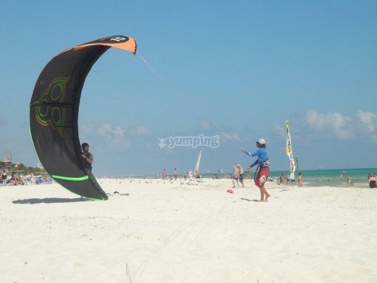 kite in salento